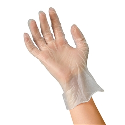 Rensow Vinyl Exam Gloves Powder Free Medium 1000 Cs